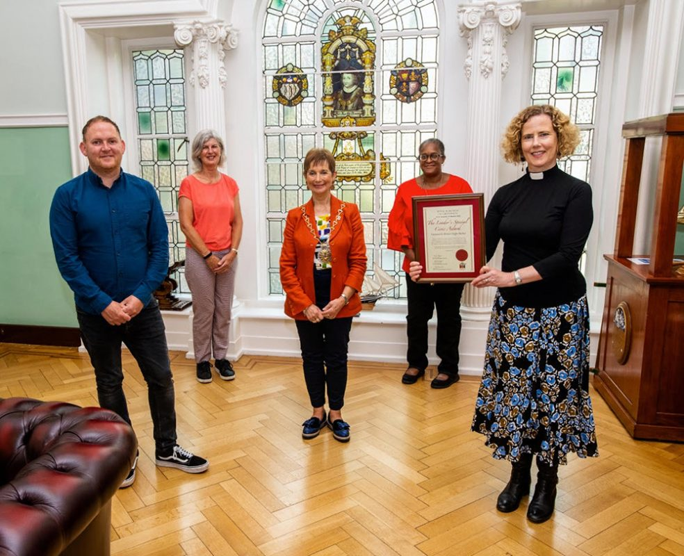 GWNS presented with special award from the Royal Borough of Greenwich